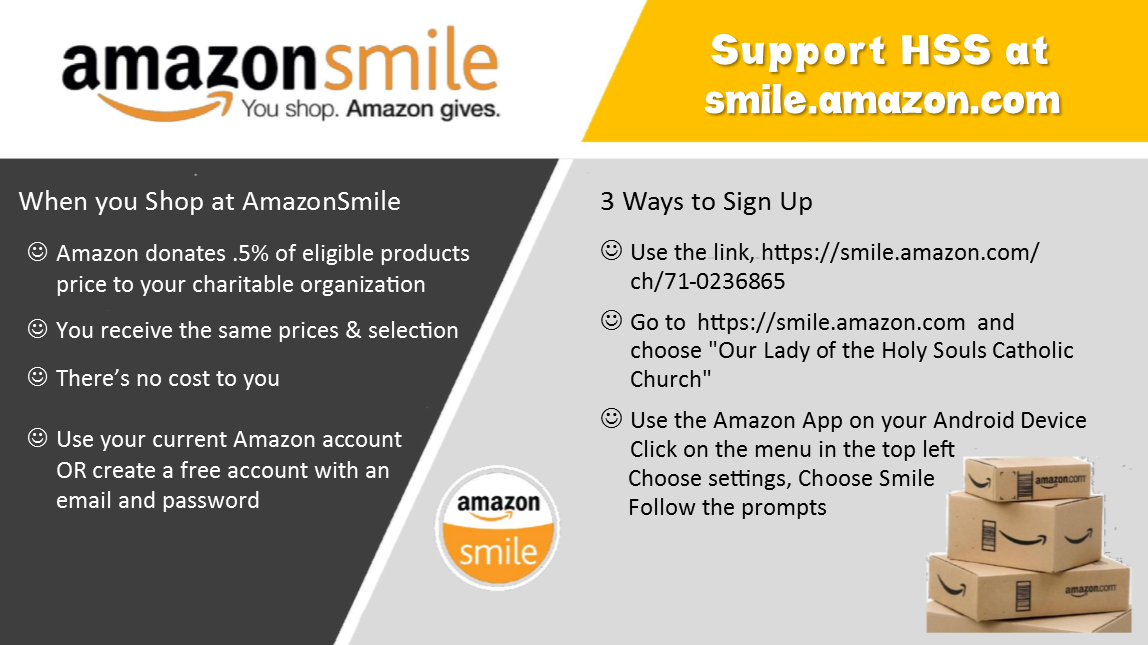 https://smile.amazon.com/ch/71-0236865